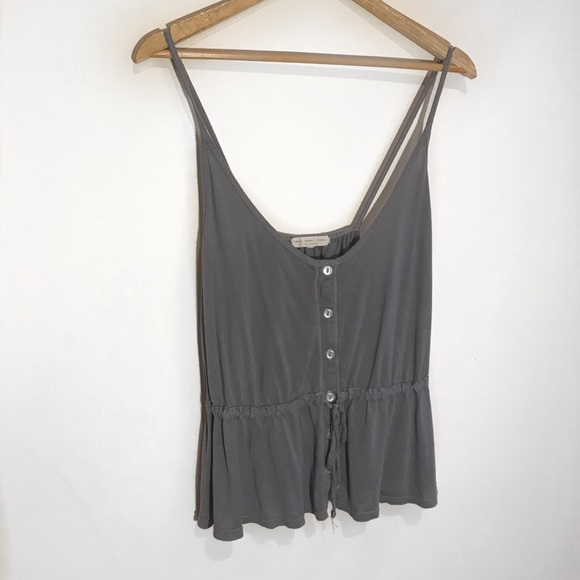 Truly Madly Deeply Tops - Loose blue tank top